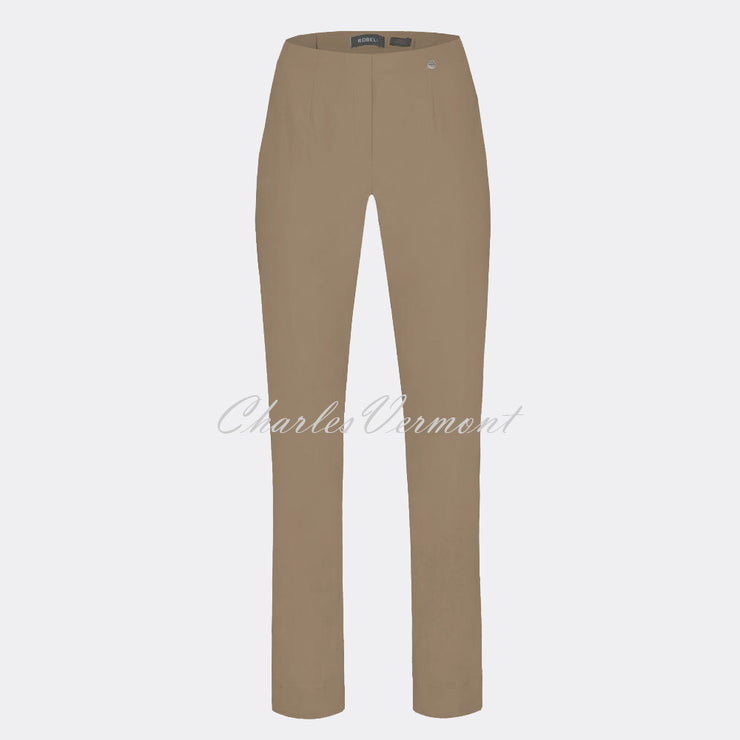 Robell Marie Full Length Trouser 51412-5499-17 (Taupe)