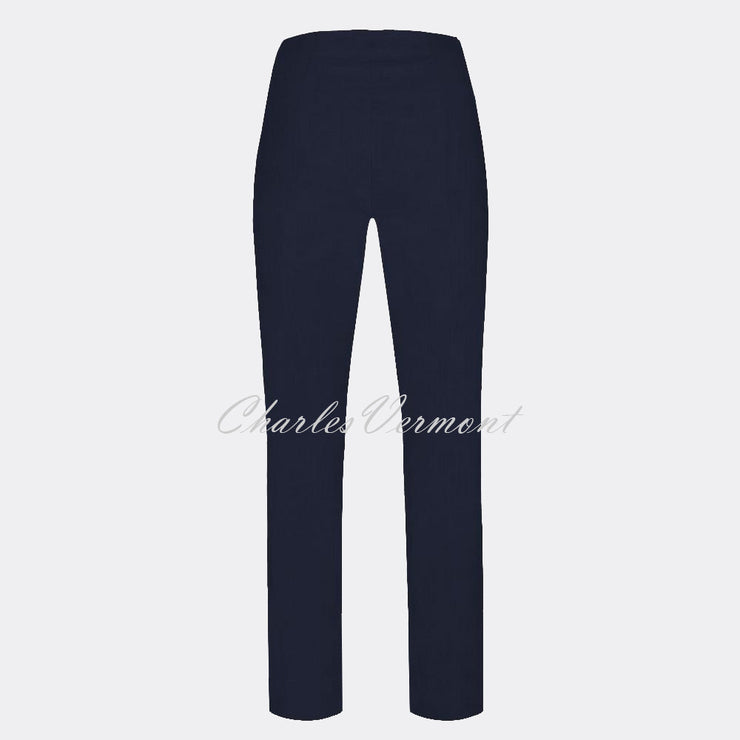 Robell Marie Full Length Trouser 51412-5499-69 (Navy)