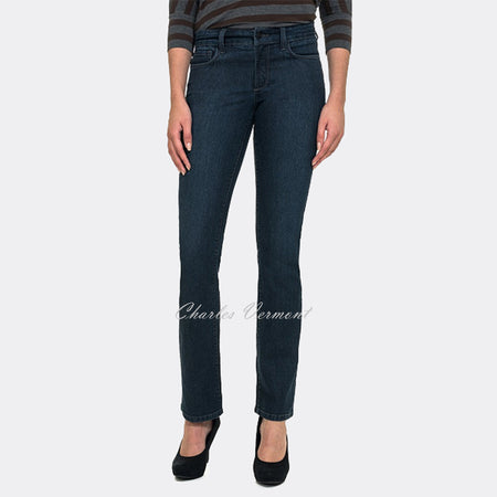 NYDJ 10227BK3984 Straight Leg Jeans - Regular (Burbank)