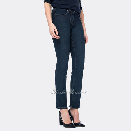 NYDJ P10265RE Skinny Jean - Petite (Blue Denim)