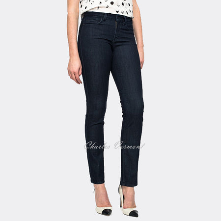 NYDJ 10965T3252 Skinny Jeans - Regular (Dark Blue with Detail)