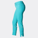 NYDJ 32591 Skinny Ankle Jean - Regular (Aqua Blue)