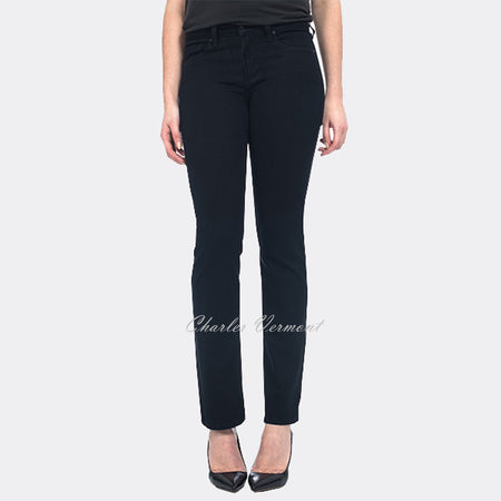 NYDJ 40477B Straight Leg Jean - Regular (Black)