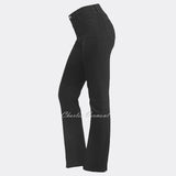 NYDJ 431B Straight Leg Jeans - Regular (Black)