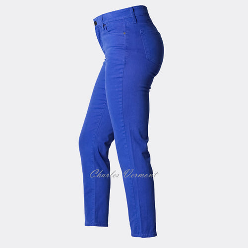 NYDJ 49610 Ankle Skinny - Regular (Cobalt Blue)