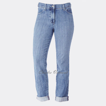 NYDJ 74312WS Ankle Skinny Roll-Up - Regular (Light Blue)