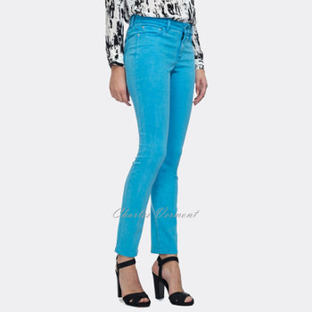 NYDJ 82906DT Super Stretch Jegging - Regular (Neon Blue)