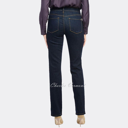 NYDJ 95477LT Straight Leg Jean - Regular (Blue)