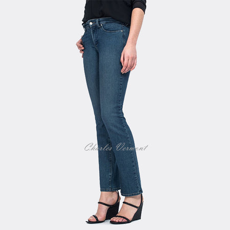 NYDJ M10D34LU3497 Straight Leg Jeans - Regular (Medium Blue)