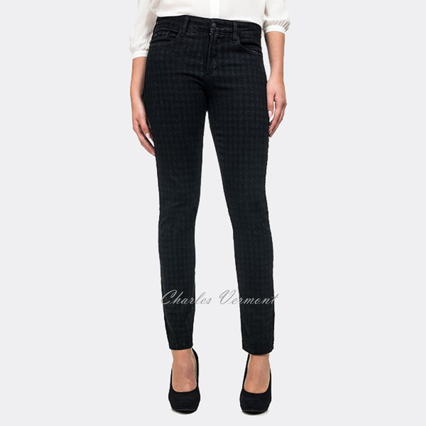 NYDJ M40A10DTP275 Jegging - Regular (Black/Grey Pattern)