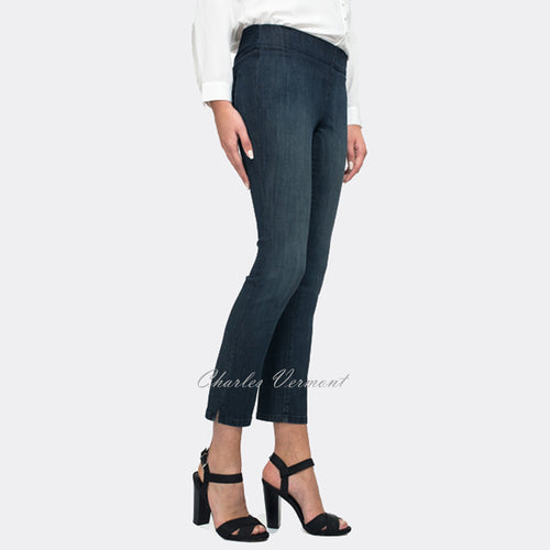 NYDJ M44I42R2 Ankle Jean - Regular (Dark Blue Wash)