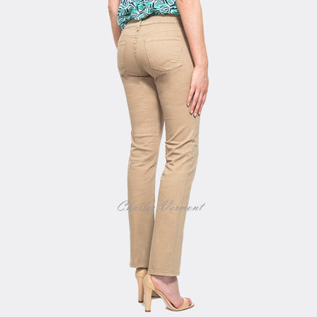 NYDJ M77F64DT3514 Straight Leg Jeans - Regular (Almond)