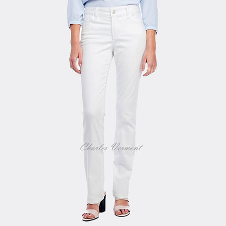 NYDJ M77J31DT4336 Straight Leg Jeans - Regular (Optic White)