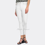 NYDJ M77M28DT4443 Ankle Roll-up Jean - Regular (Optic White)
