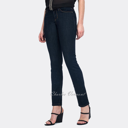 NYDJ M95C60LT Skinny Jean - Regular (Dark Blue)