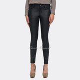 NYDJ MHLI94T Mock-Suede Jegging - Regular (Black)