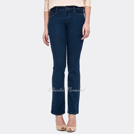 NYDJ MVCO37BRW Slim Straight - Regular (Mid Blue)