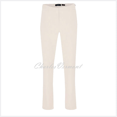 Robell Jacklyn Trouser 51408-5689-112 (Off-White) – SHORTER LENGTH