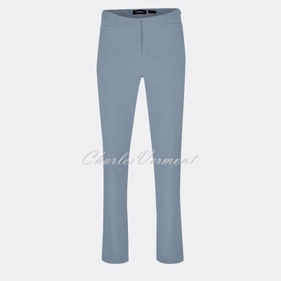 Robell Jacklyn Trouser 51408-5689-610 (Airforce Blue) – SHORTER LENGTH 29""