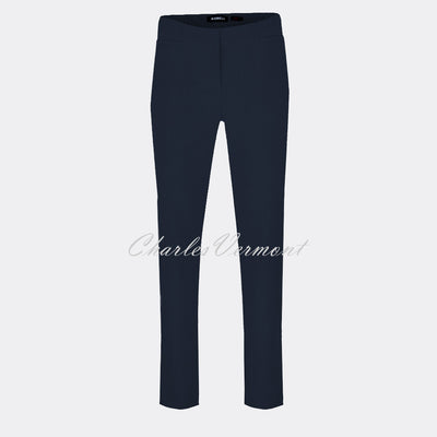 Robell Jacklyn Trouser 51408-5689-69 (Navy) – SHORTER LENGTH 29""
