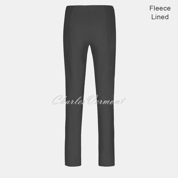 Robell Marie Trouser 51412-54025-97 – Fleece Lined (Anthracite) – SHORTER LENGTH