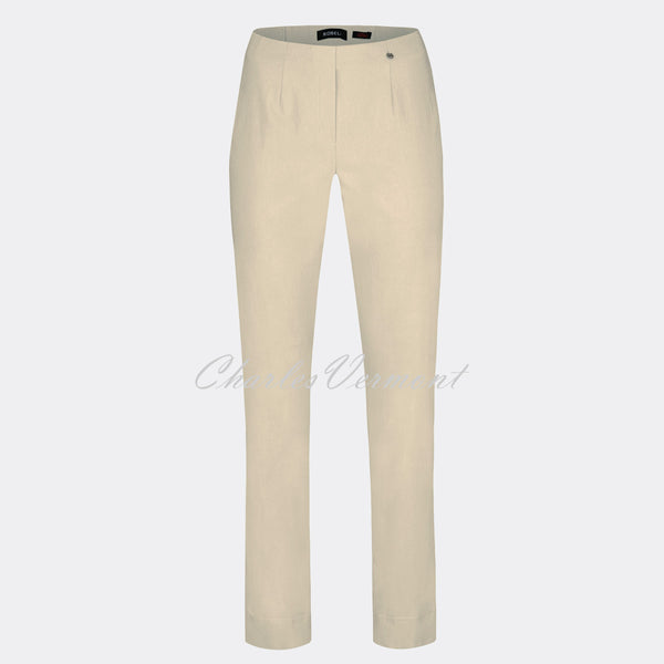 Robell Marie Full Length Trouser 51412-5499-14 (Beige)