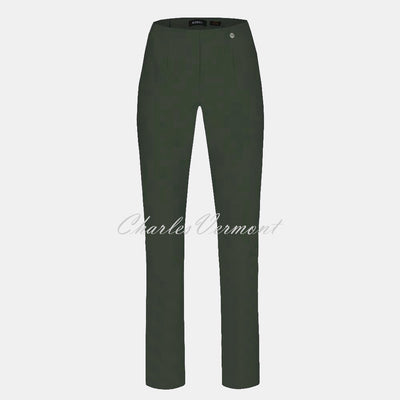 Robell Marie Full Length Trouser 51412-5499-187 (Forest Green)