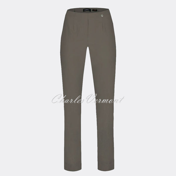 Robell Marie Full Length Trouser 51412-5499-38 (Almond)