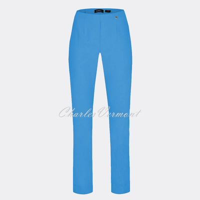 Robell Marie Full Length Trouser 51412-5499-600 (Azure Blue)
