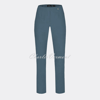 Robell Marie Trouser 51412-5499-64 (Steel Blue) – SHORTER LENGTH 29""