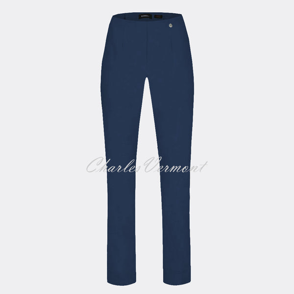 Robell Marie Full Length Trouser 51412-5499-68 (Denim Blue)