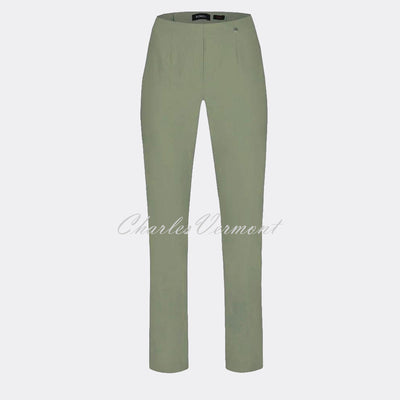 Robell Marie Trouser 51412-5499-881 (Ivy Green) – SHORTER LENGTH