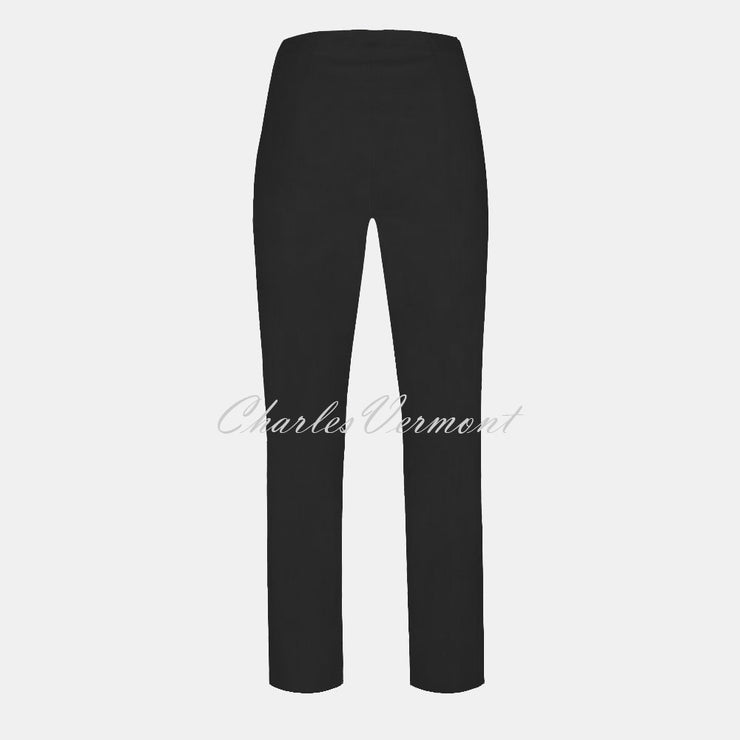 Robell Marie Trouser 51412-5499-90 (Black) – SHORTER LENGTH