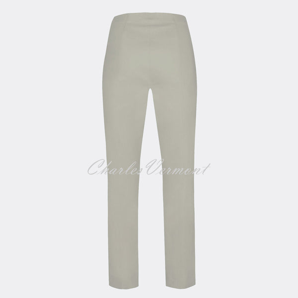 Robell Marie Full Length Trouser 51412-5499-92 (Light Grey)