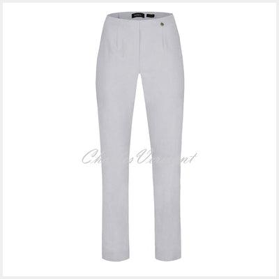 Robell Marie Trouser 51412-5499-920 (Stone Grey) - SHORTER LENGTH 29""