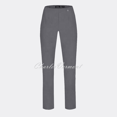 Robell Marie Trouser 51412-5499-98 (Grey) – SHORTER LENGTH 29""