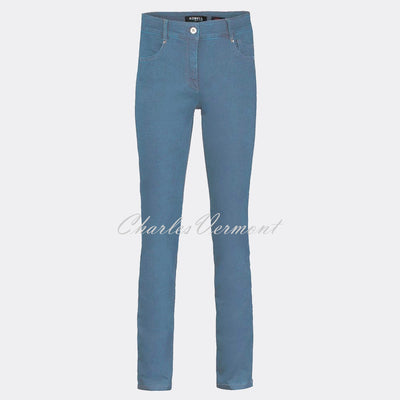 Robell Elena Full Length Jean 51455-5448-62 (Light Denim Blue)
