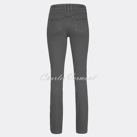 Robell Elena Full Length Jean 51455-5448-95 (Grey)
