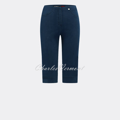 Robell Bella 05 – Bermuda Short 51489-5448-69 (Navy Denim)