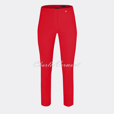 Robell Rose 09 - 7/8 Cropped Super Slim Trouser 51527-5499-40 (Red)