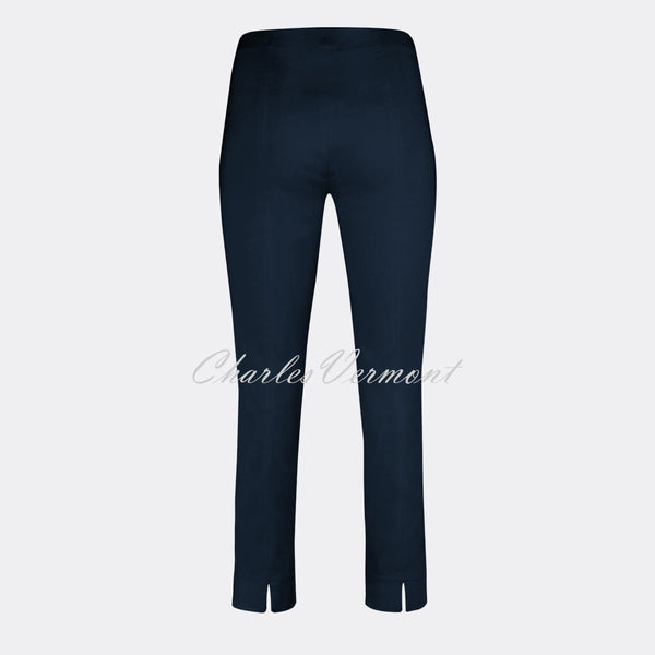 Robell Rose 09 – 7/8 Cropped Super-Slim Trouser 51527-5499-69 (Navy)