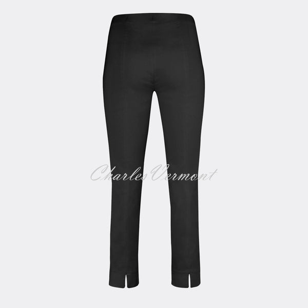 Robell Rose 09 – 7/8 Cropped Super Slim Trouser 51527-5499-90 (Black)