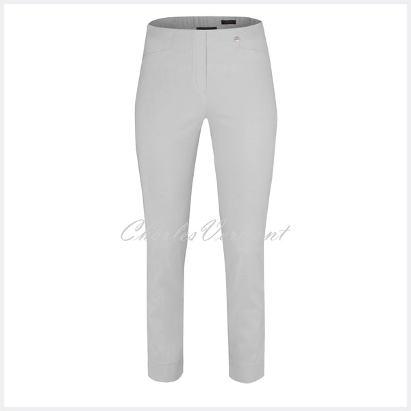 Robell Rose 09 – 7/8 Cropped Super Slim Trouser 51527-5499-92 (Light Grey)