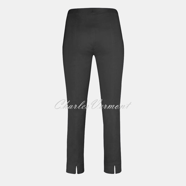 Robell Rose 09 - 7/8 Cropped Super Slim Trouser 51527-5499-97 (Anthracite Grey)