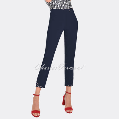 Robell Bella 09 – 7/8 Cropped Trouser 51545-5499-69 (Navy)