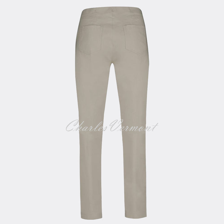 Robell Bella Full Length Trouser 51559-5499-13 (Light Taupe)