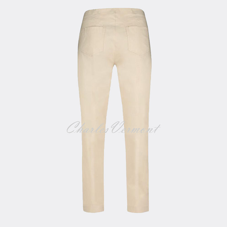 Robell Bella Trouser 51559-5499-14 (Beige) – SHORTER LENGTH 29""