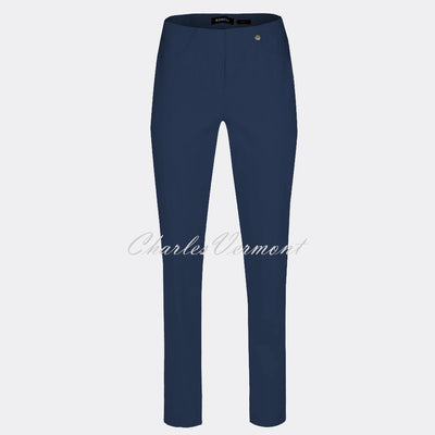 Robell Bella Full Length Trouser 51559-5499-68 (French Navy)