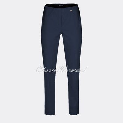 Robell Bella Trouser 51559-5499-69 (Navy) – SHORTER LENGTH