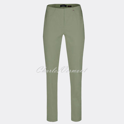 Robell Bella Full Length Trouser 51559-5499-881 (Ivy Green)